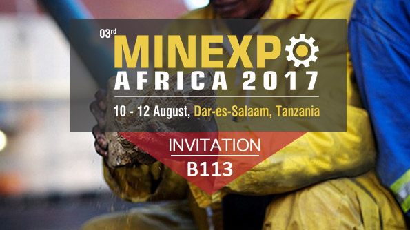 Jinpeng invite you to attend MINEXPO TANZANIA 2017