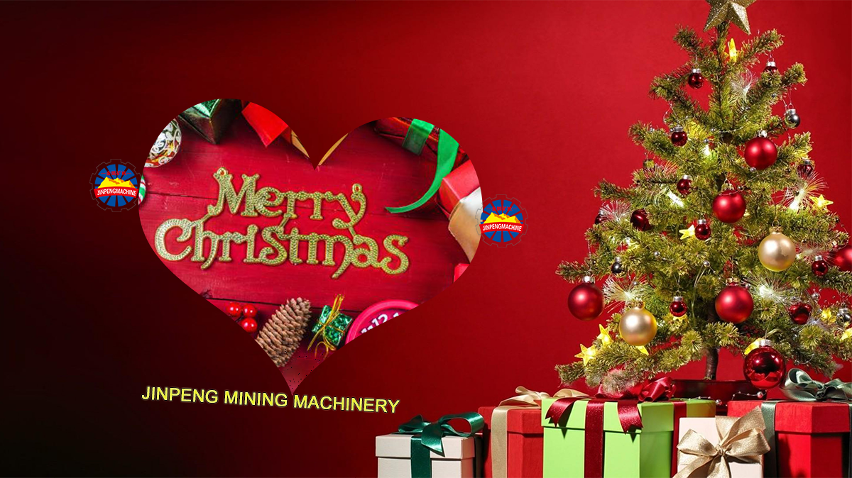 Christmas greetings from Jinpeng Mining Machinery Group